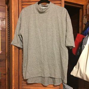 Zara mock neck shirt NWT
